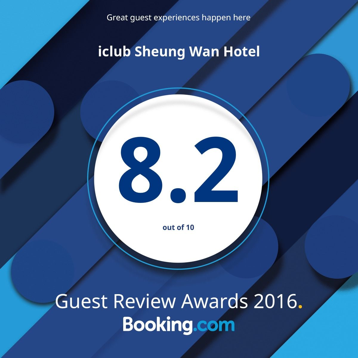 Booking.com - Guest Review Award 2016