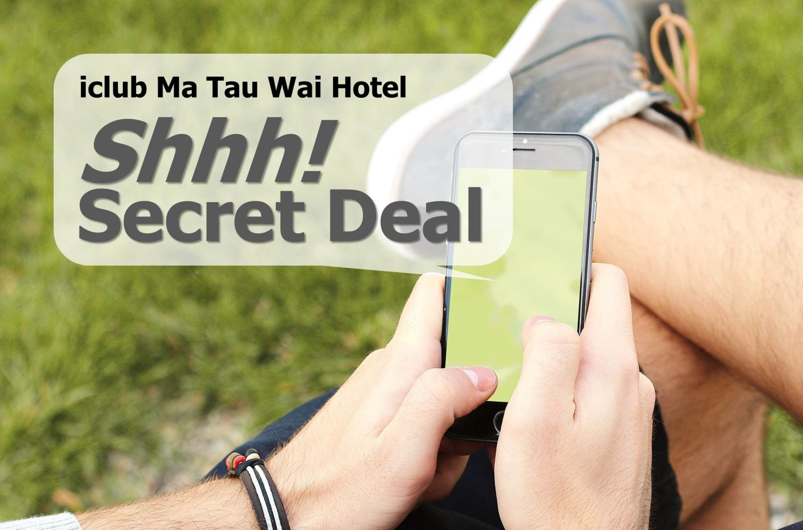 iclub Ma Tau Wai Hotel – Shhh! Secret Deal